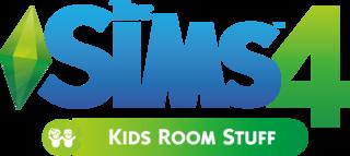 The Sims 4: Kids Room Stuff logo