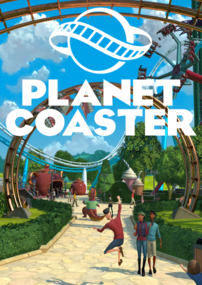 Planet Coaster box art packshot