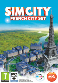 SimCity French City Set box art packshot