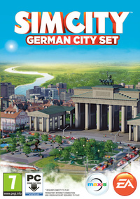 SimCity German City Set box art packshot