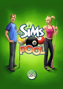 The Sims Pool for mobile phones box art packshot