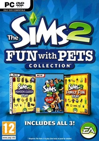 The Sims 2: Fun with Pets Collection box art packshot