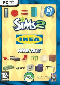 The Sims 2: IKEA Home Stuff box art packshot
