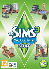 The Sims 3: Outdoor Living Stuff box art packshot
