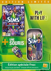 Les Sims 3: Accès VIP + Souris (Edition Limitée) packshot box art