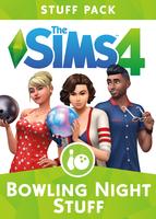 The Sims 4: Bowling Night Stuff packshot box art
