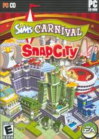The Sims Carnival: SnapCity box art packshot