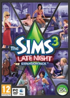 The Sims 3: Late Night box art packshot