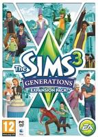 The Sims 3: Generations box art packshot