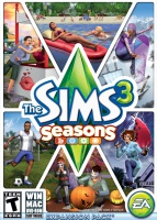 The Sims 3: Seasons box art packshot