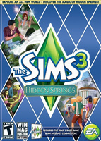 The Sims 3: Hidden Springs box art packshot