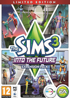 The Sims 3: Into the Future (Limited Edition) packshot box art