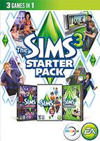 The Sims 3 Starter Pack packshot box art