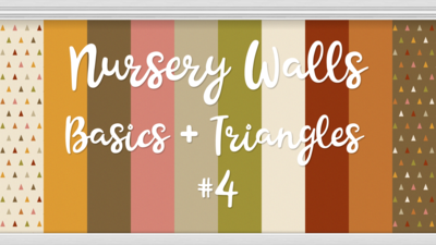 Nursery Walls Set #4 - Basics + Triangles