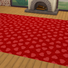 Valentine's Day 2018 / Love Carpets #6 (Hearts - Full - Small - Light)