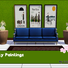 Sims 3: City Paintings set