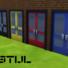 De Stijl Commercial Door 5 Snw Simsnetwork Com