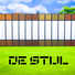 De Stijl Wooden Wall Panels (Top and Bottom) #4