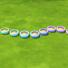 Pastel/Berry Garden Pots