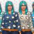 Women's Penguin Pattern Sweater