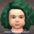 Maxis Matching Twist-out Hairdo for Toddlers