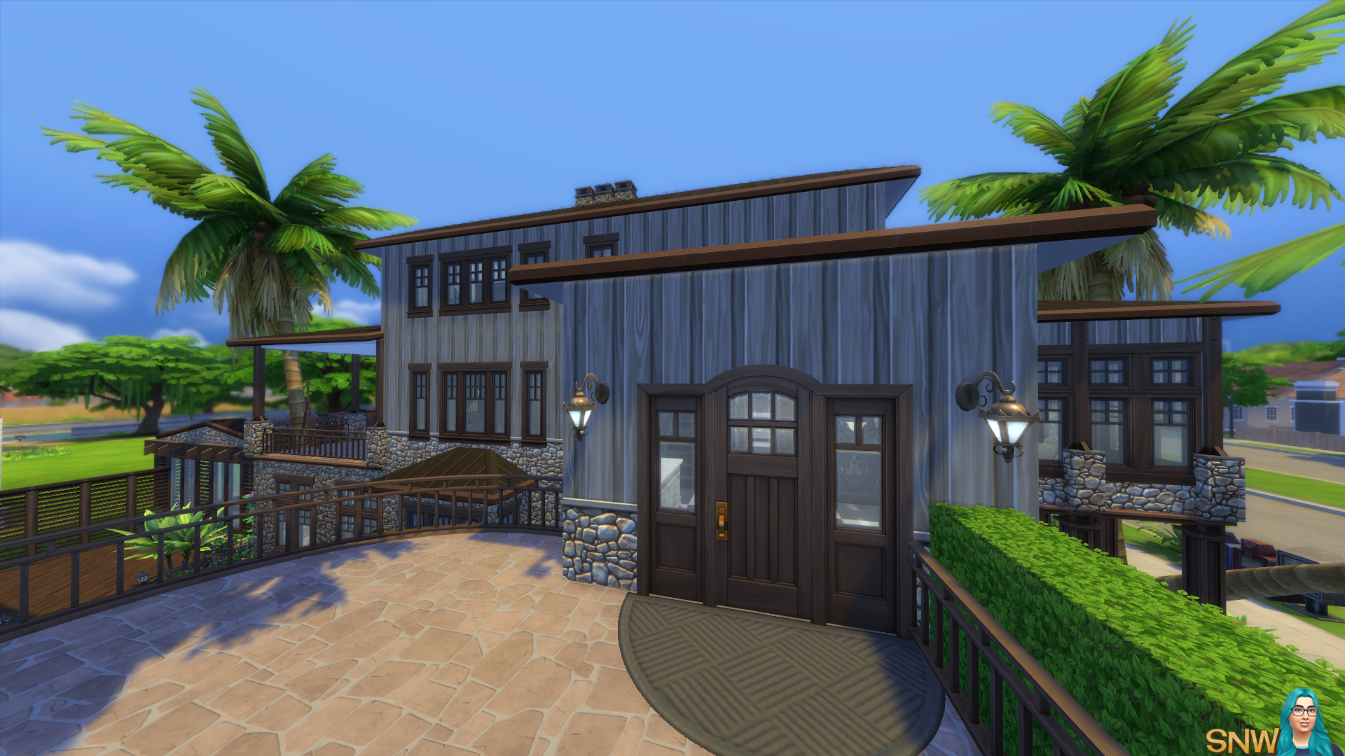 Fun & Quirky house in The Sims 4