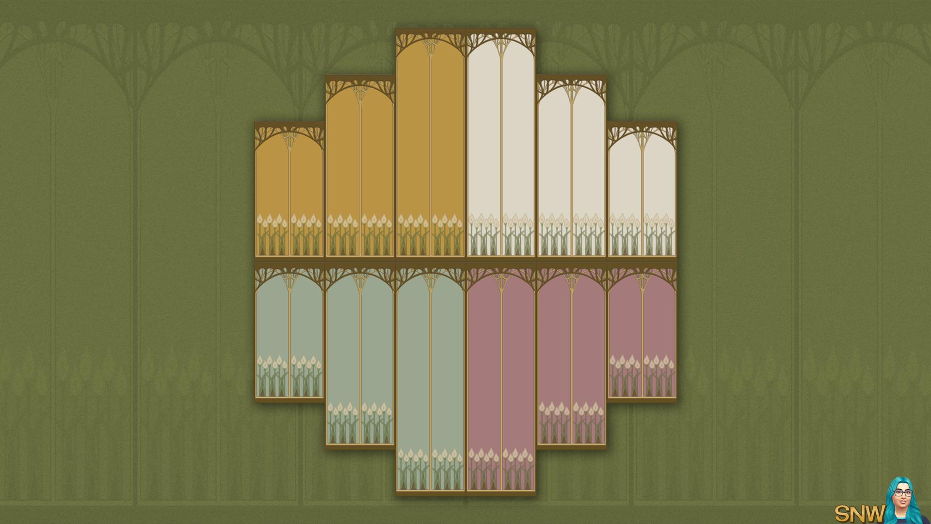 Bohemian Walls (4 colour options)