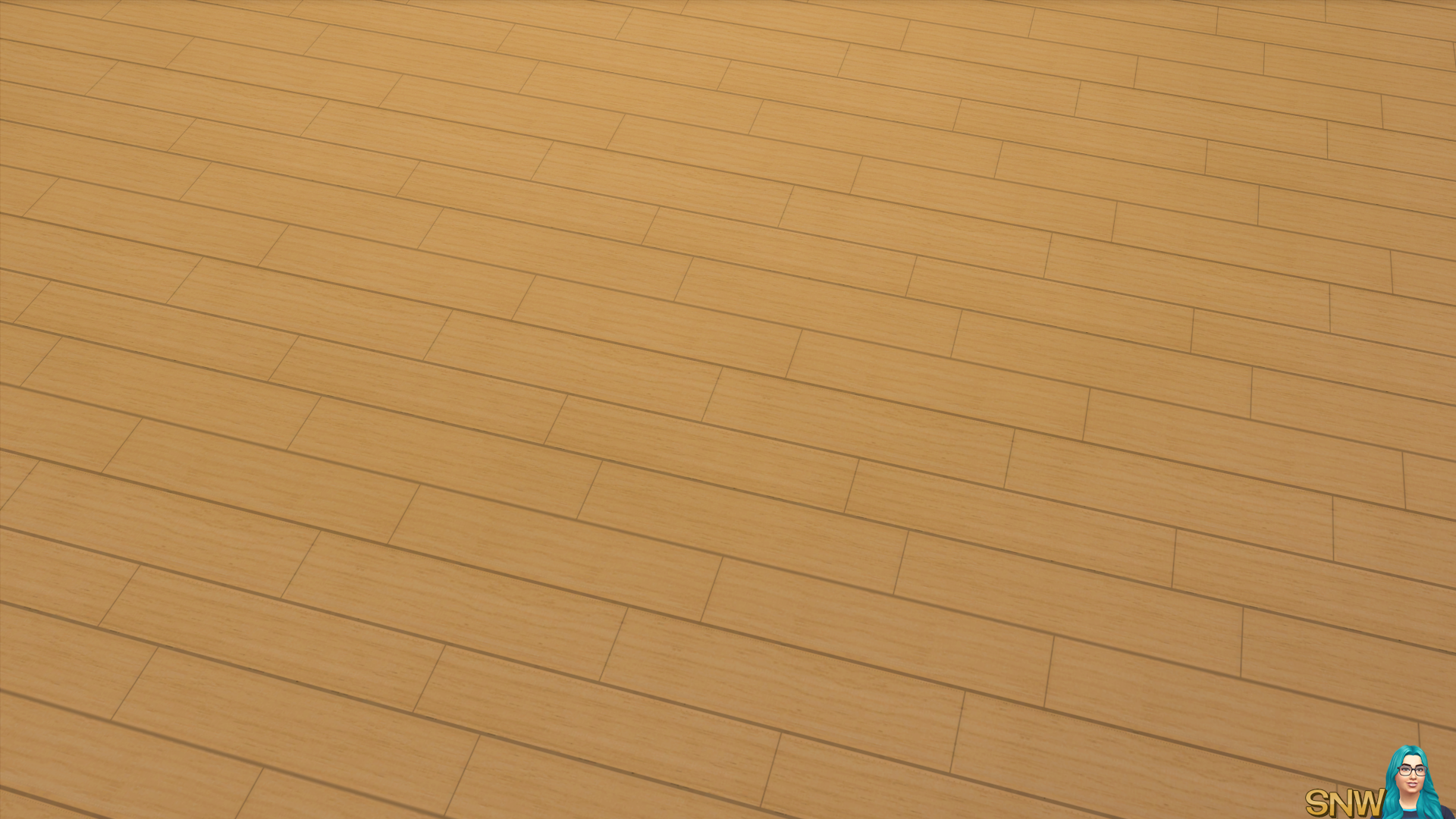 The Sims 4 downloads wooden wide planks floor