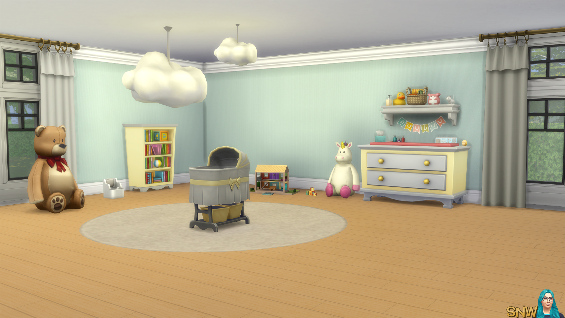 Nursery Walls Set #1 - Basics + Triangles