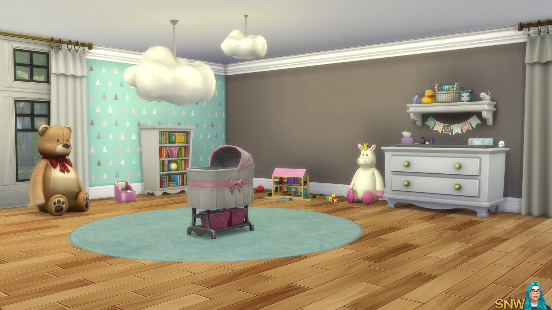 Nursery Walls Set #6 - Basics + Triangles
