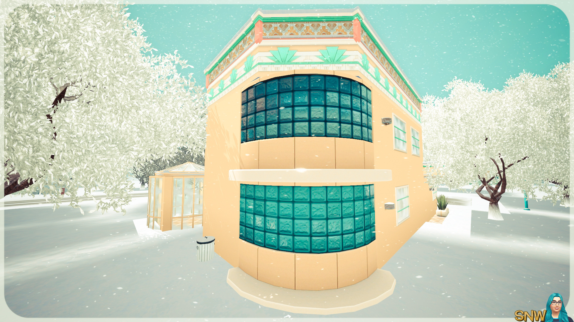Sunny Art Deco House