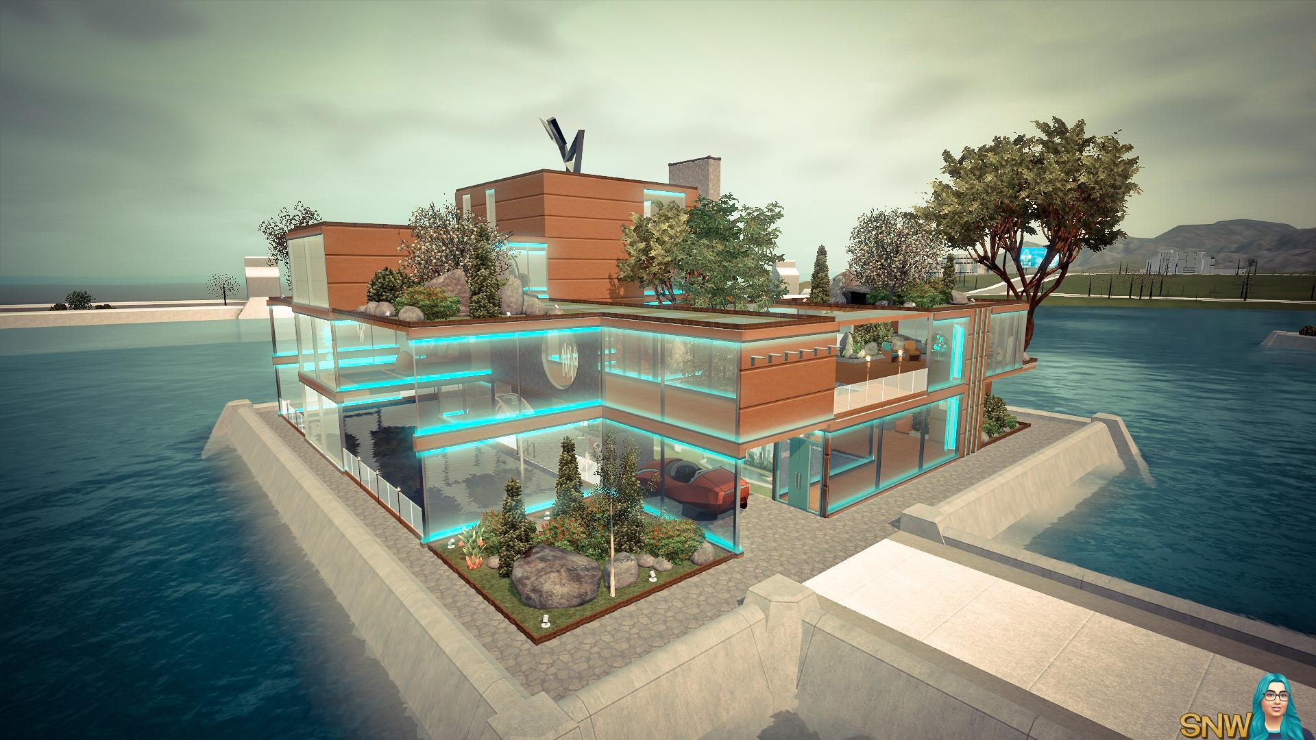 Futuristic Mid-Century Modern