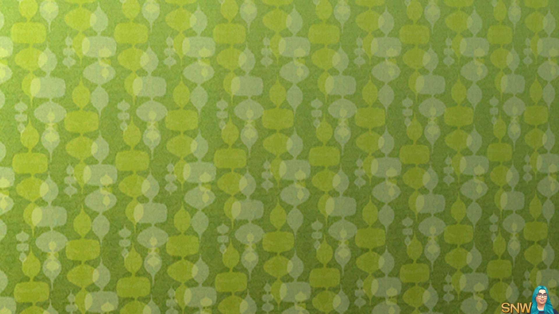 Mod wallpaper green & yellow