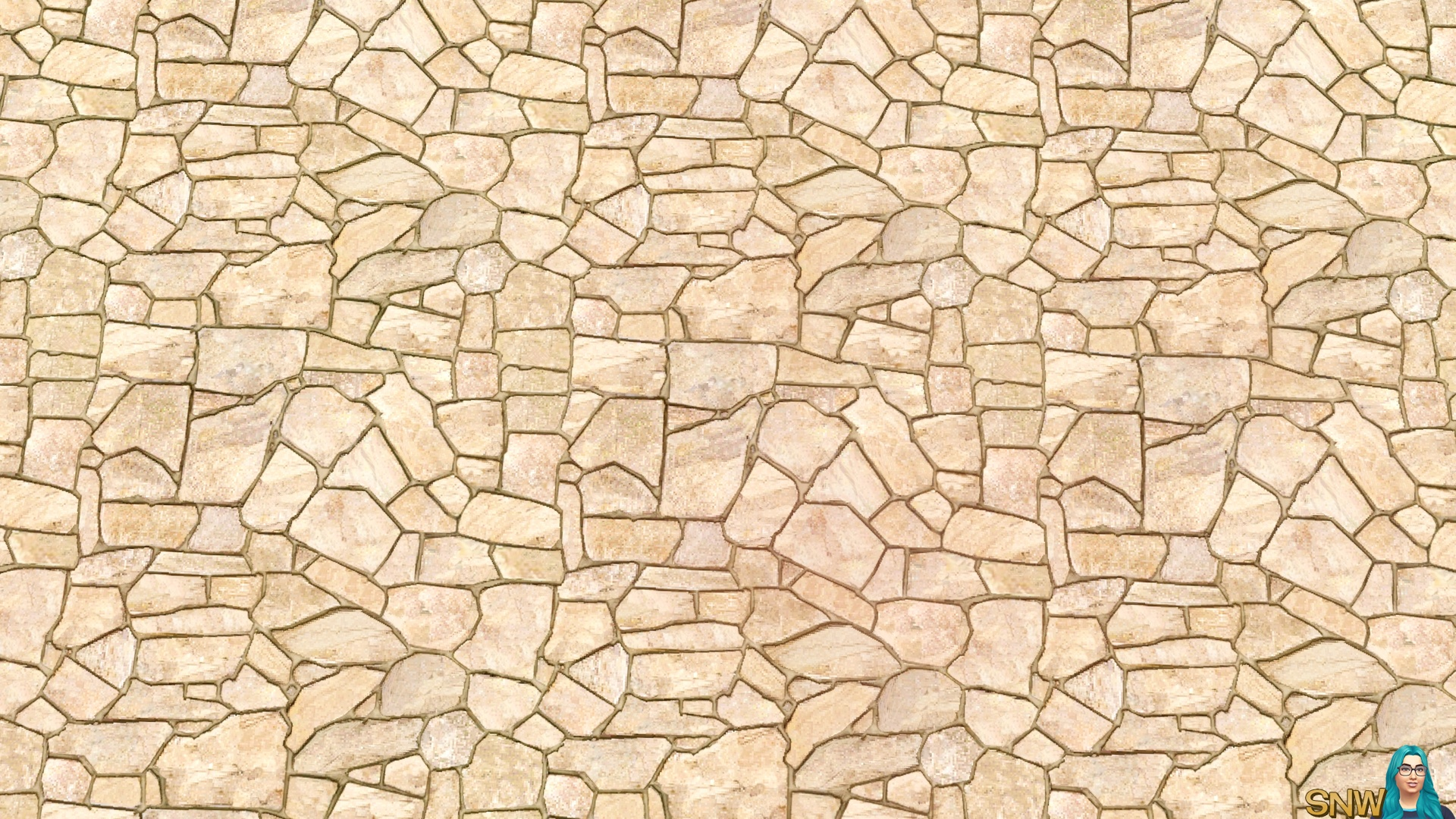 Riverbed Stone Pavers Snw Simsnetwork Com