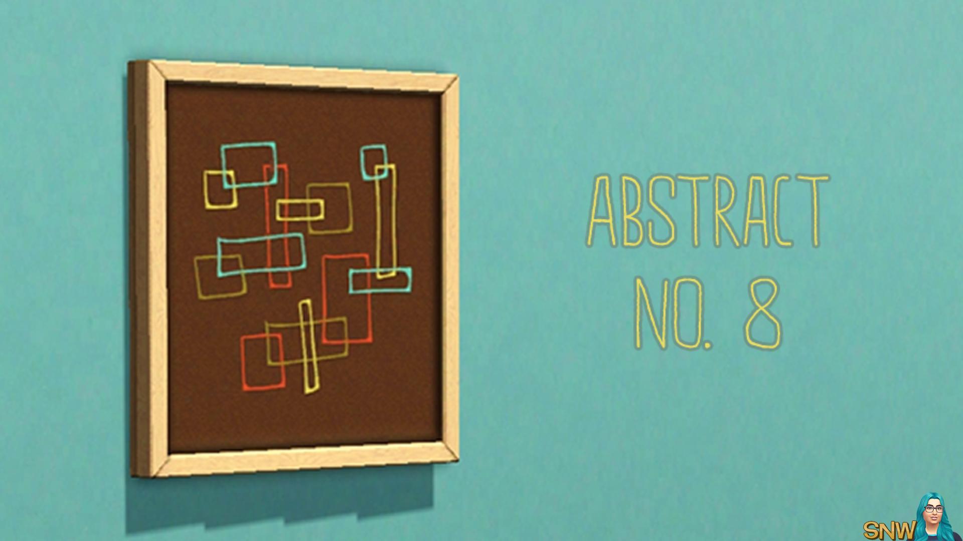 Abstract No. 8 painting