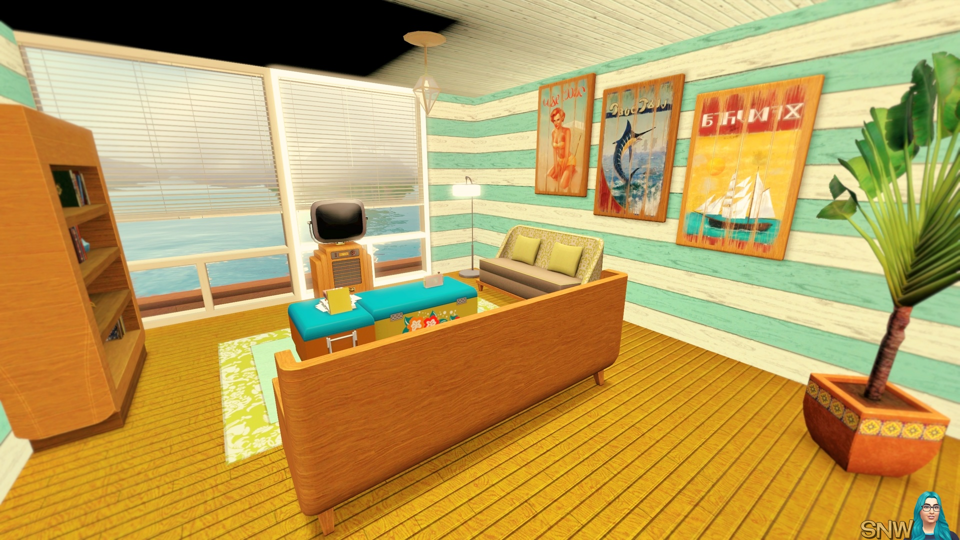 Beachy Boat