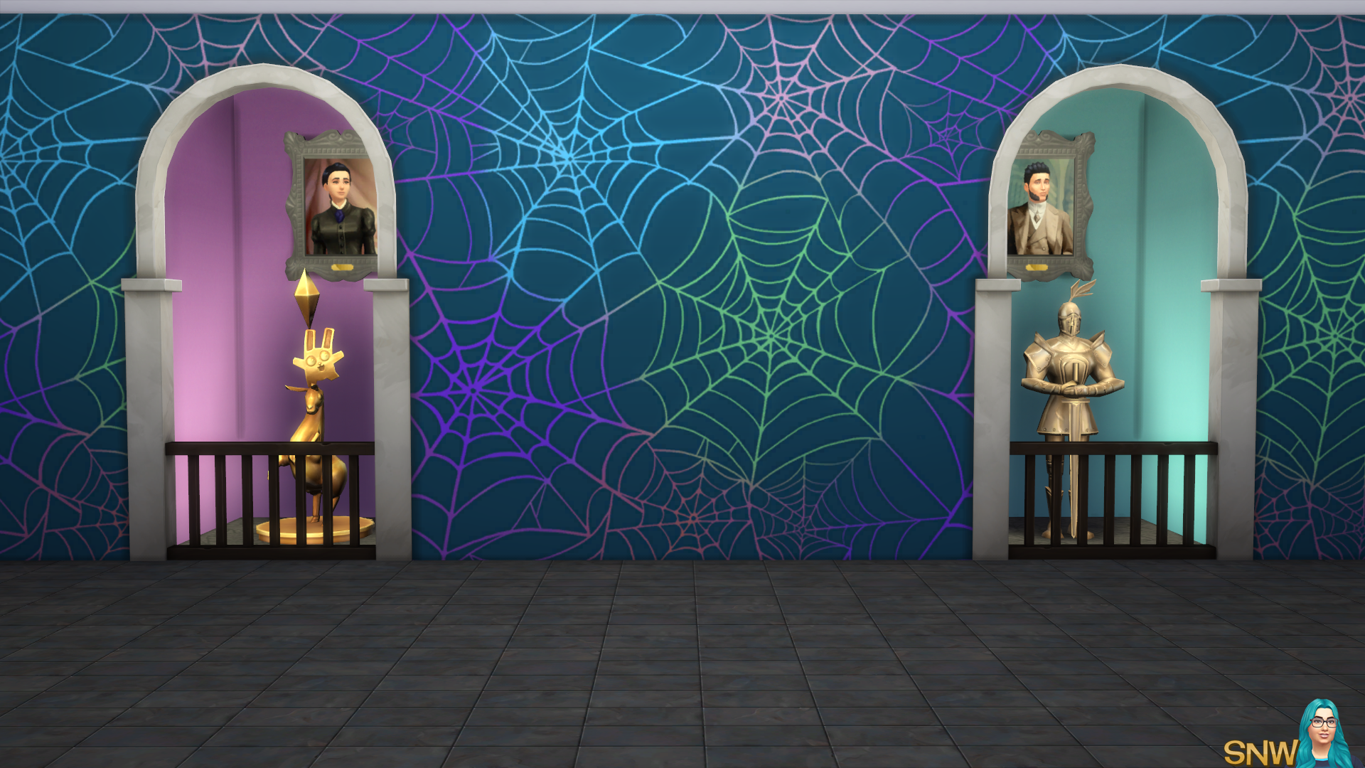 Halloween 2016 Mural Set (Gradient Base Wall)