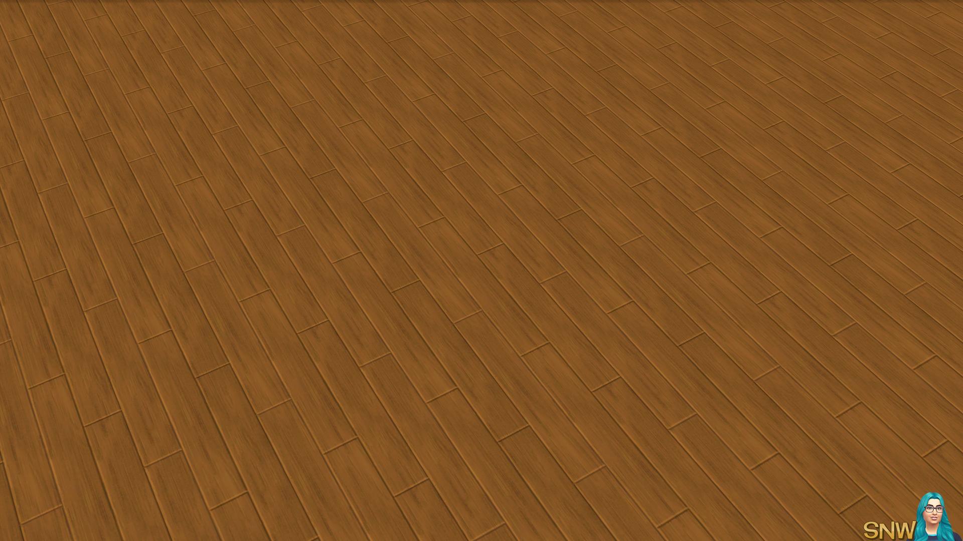 Wooden Planks Floor