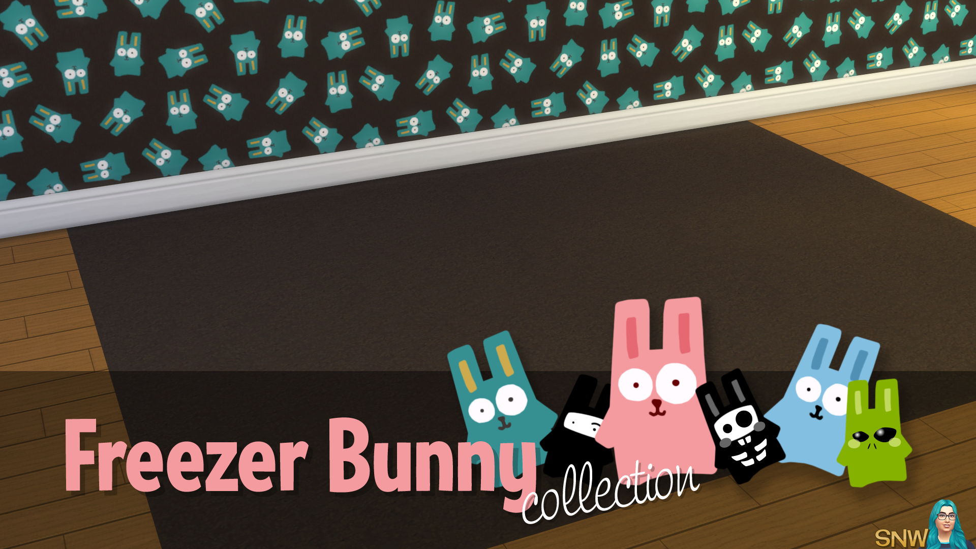 Freezer Bunny Collection: Carpets