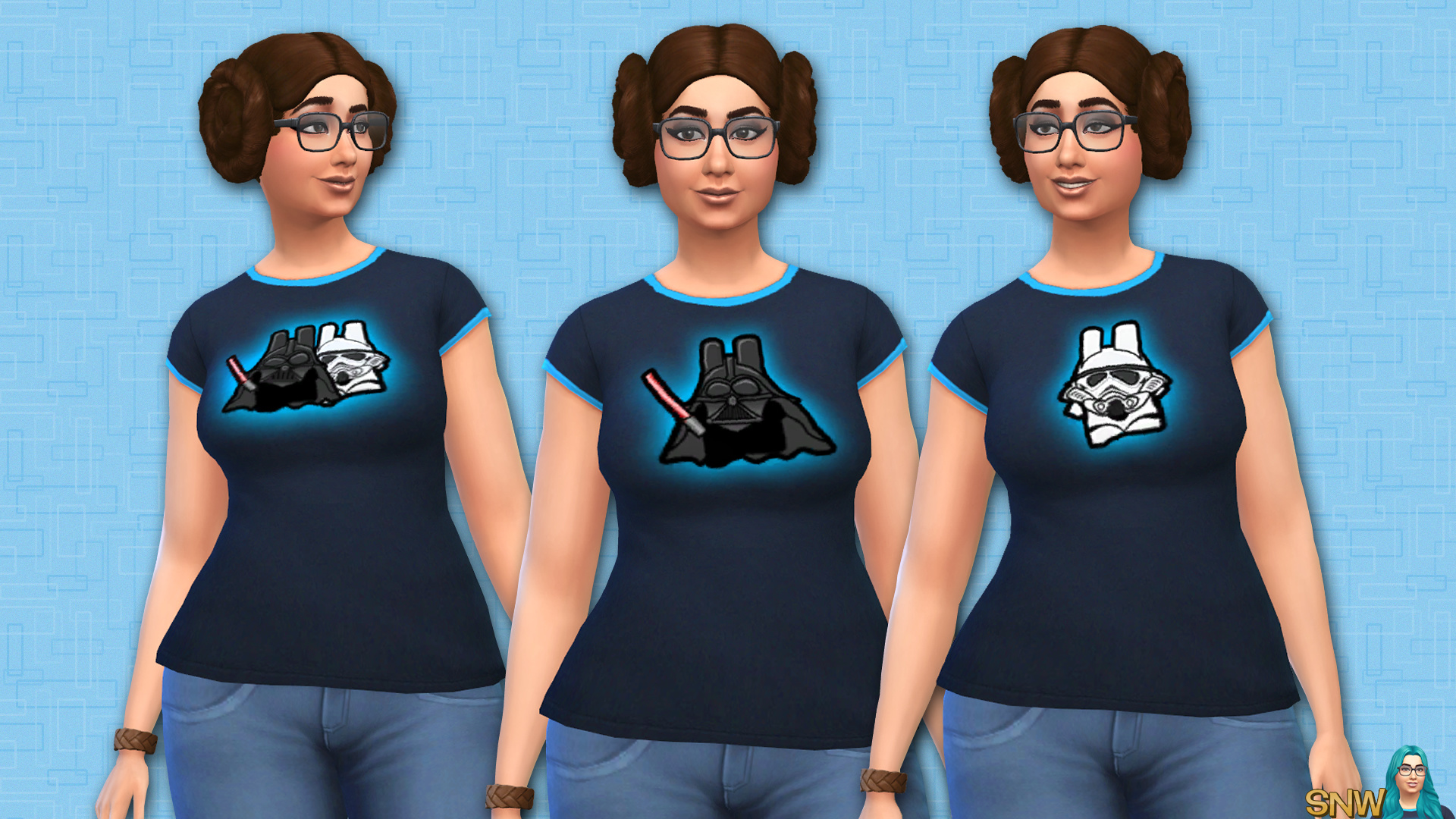 Star Wars shirt (female adult)