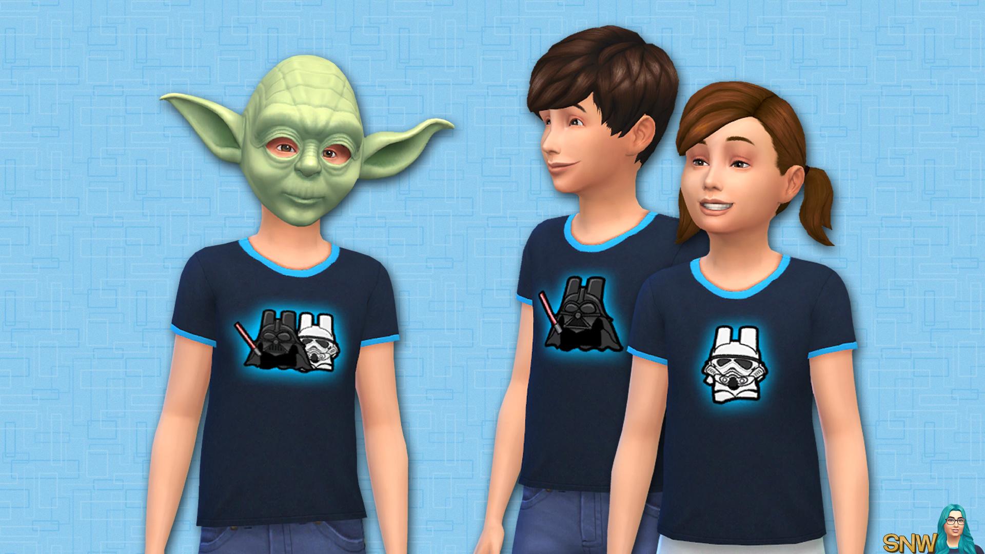 Star Wars shirt (unisex kids)