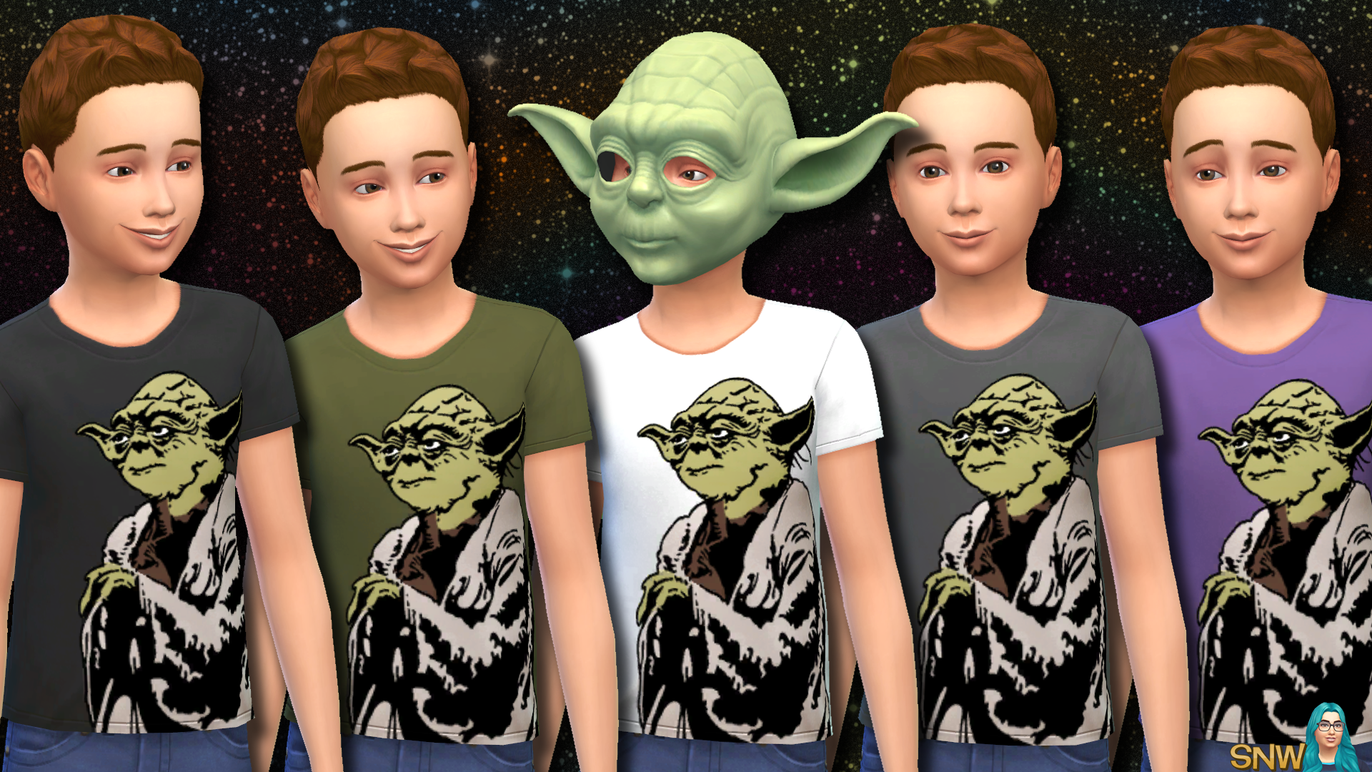 Star Wars Yoda Shirts for Kids