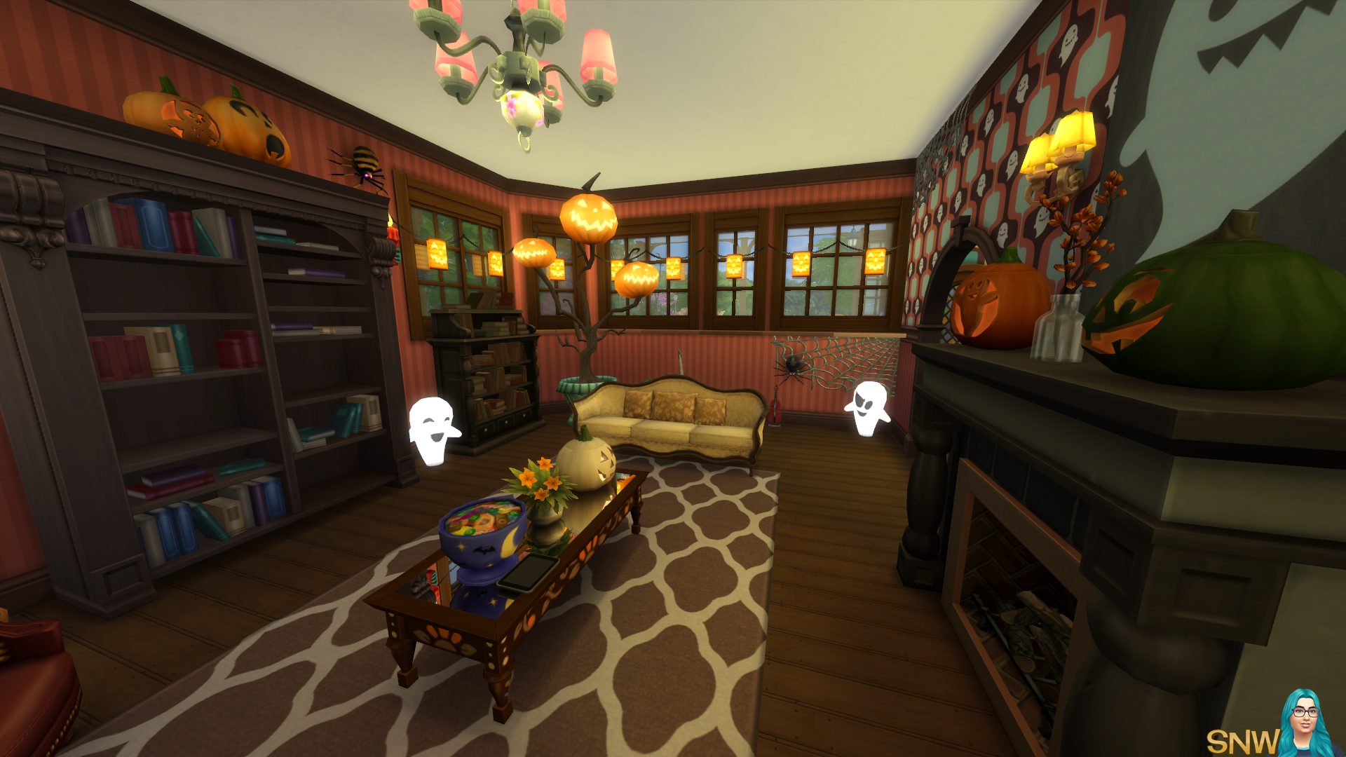 Spooky & Cute Victorian Home