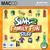 The Sims 2: Family Fun Stuff for Mac box art packshot jewel case