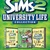 The Sims 2: University Life Collection box art packshot US