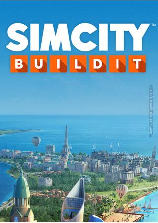 SimCIty BuildIt box art packshot