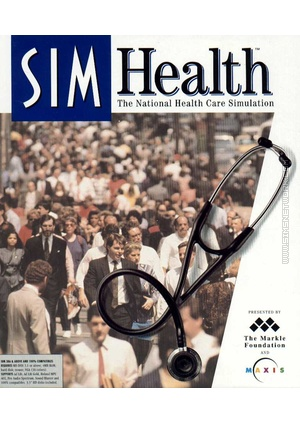 Sim Health SimHealth packshot box art