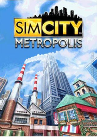 SimCity Metropolis for mobile phones box art packshot