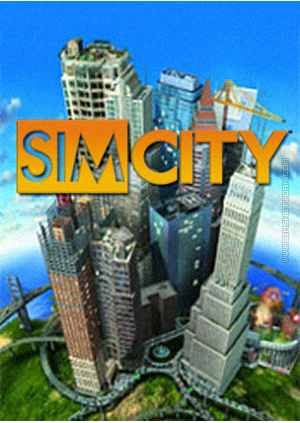 SimCity for mobile phones box art packshot