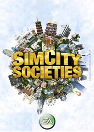 SimCity Societies for mobile phones box art packshot